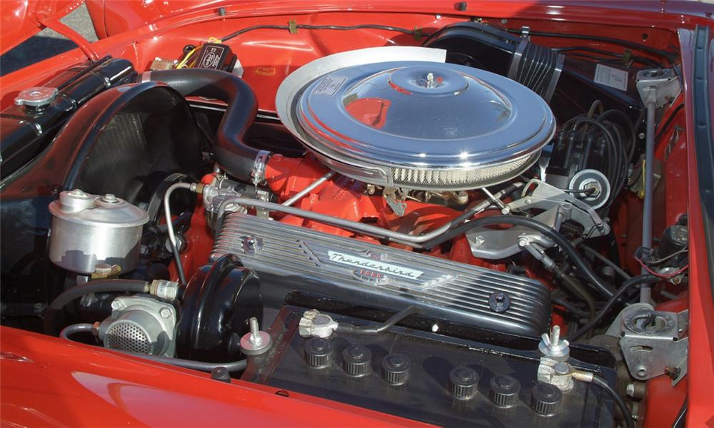 1957 FORD THUNDERBIRD CONVERTIBLE - Engine - 16081