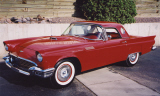 1957 FORD THUNDERBIRD CONVERTIBLE -  - 16081