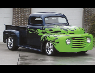 1949 FORD CUSTOM PICKUP -  - 16084