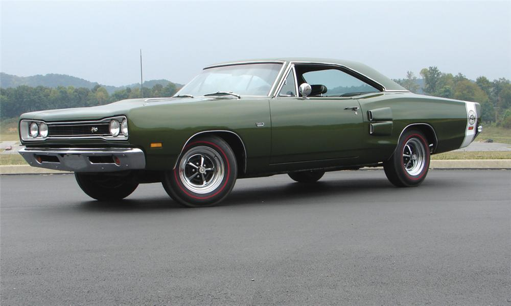 1969 DODGE SUPER BEE 2 DOOR HARDTOP - Front 3/4 - 16087