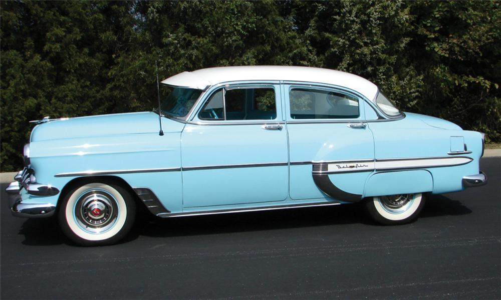 1954 chevrolet bel air 4 door hardtop 16089