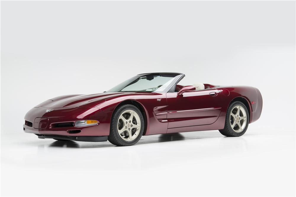 2003 CHEVROLET CORVETTE 50TH ANNIVERSARY CONVERTIBLE - Front 3/4 - 160967