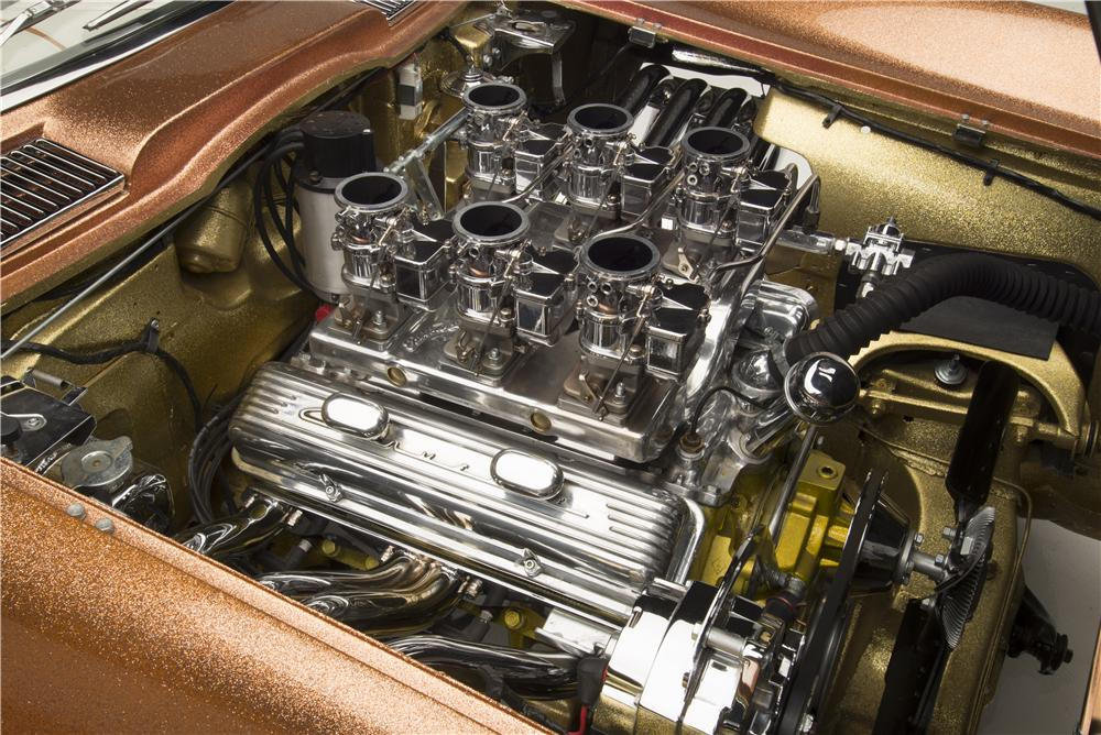 "1963 CHEVROLET CORVETTE ""ASTEROID"" - Engine - 160971"