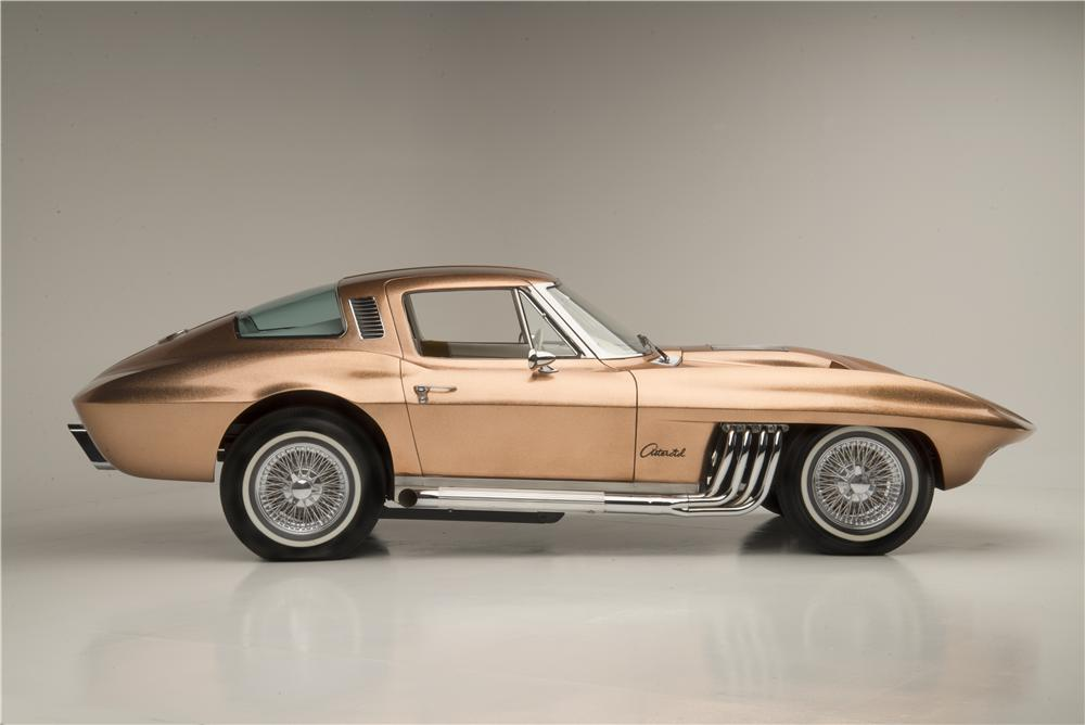 "1963 CHEVROLET CORVETTE ""ASTEROID"" - Side Profile - 160971"