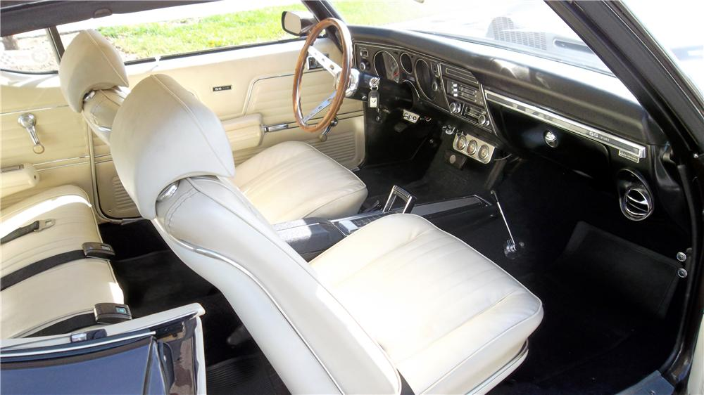 1969 CHEVROLET CHEVELLE BALDWIN MOTION - Interior - 160974
