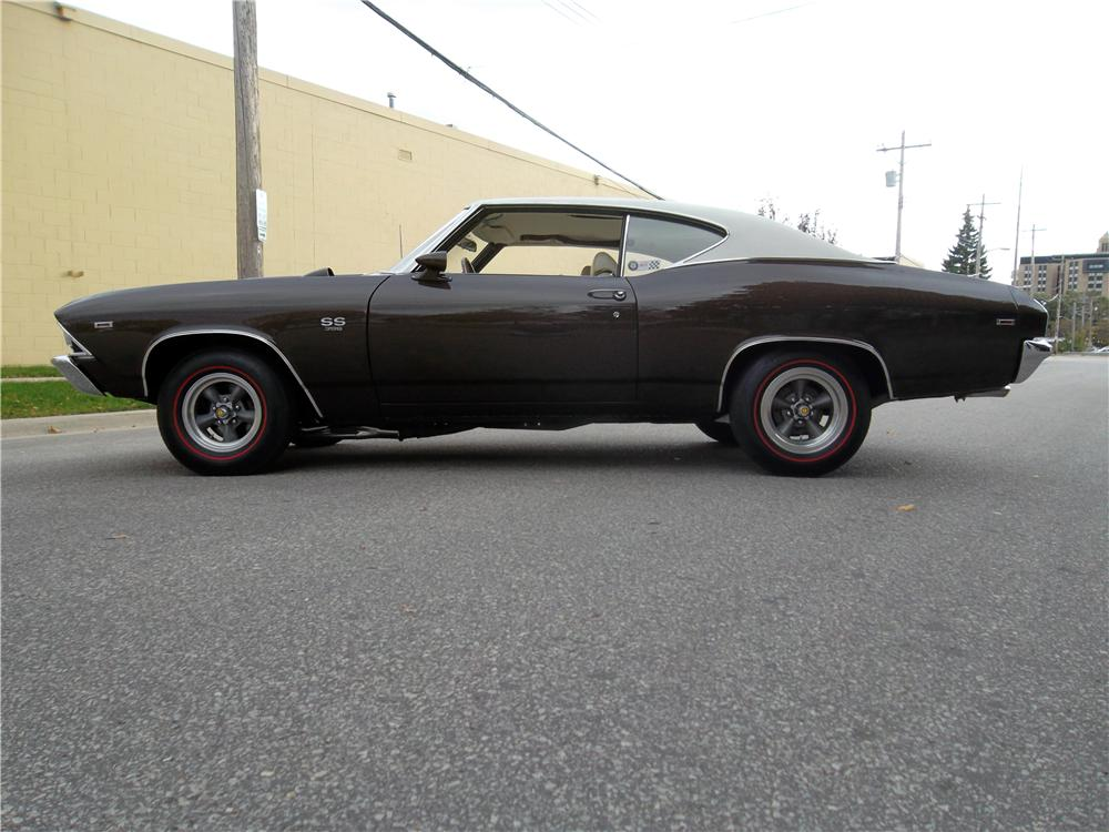 1969 CHEVROLET CHEVELLE BALDWIN MOTION - Side Profile - 160974