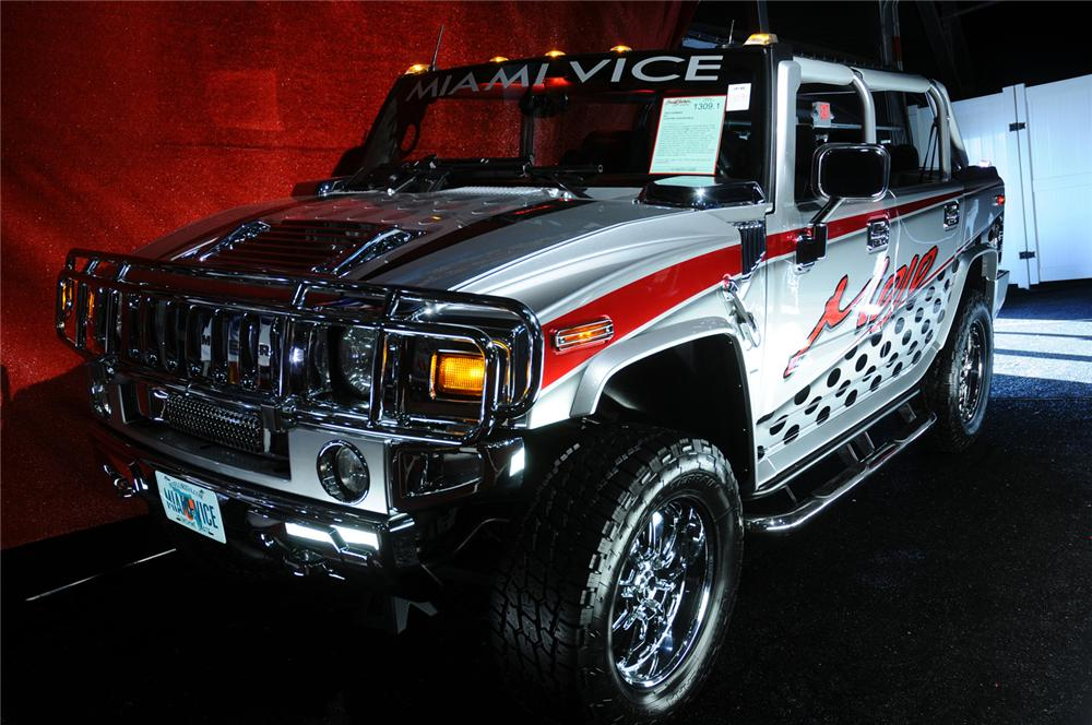 2003 HUMMER H2 CUSTOM CONVERTIBLE - Front 3/4 - 160979