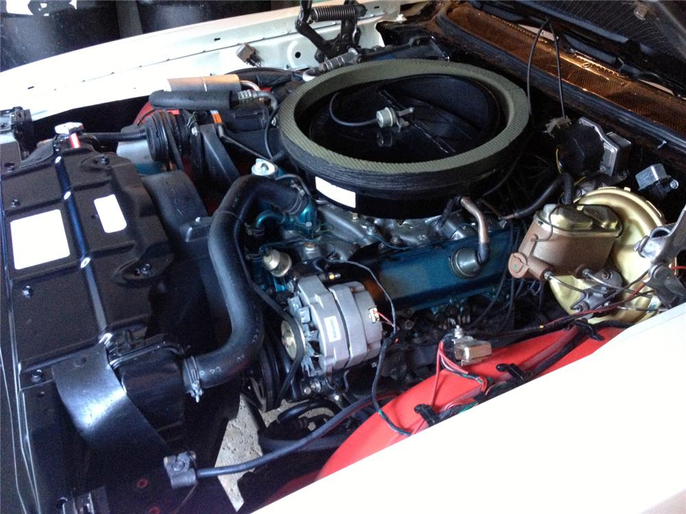 1970 OLDSMOBILE 442 W30 CONVERTIBLE - Engine - 160985