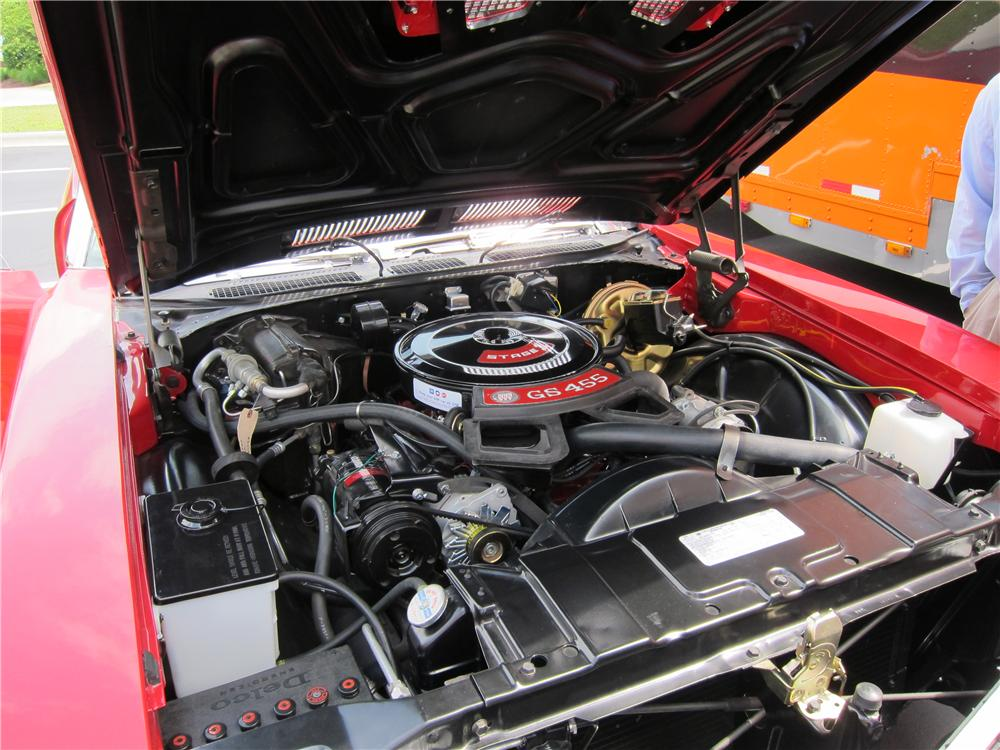 1972 BUICK GS STAGE 1 CONVERTIBLE - Engine - 160987