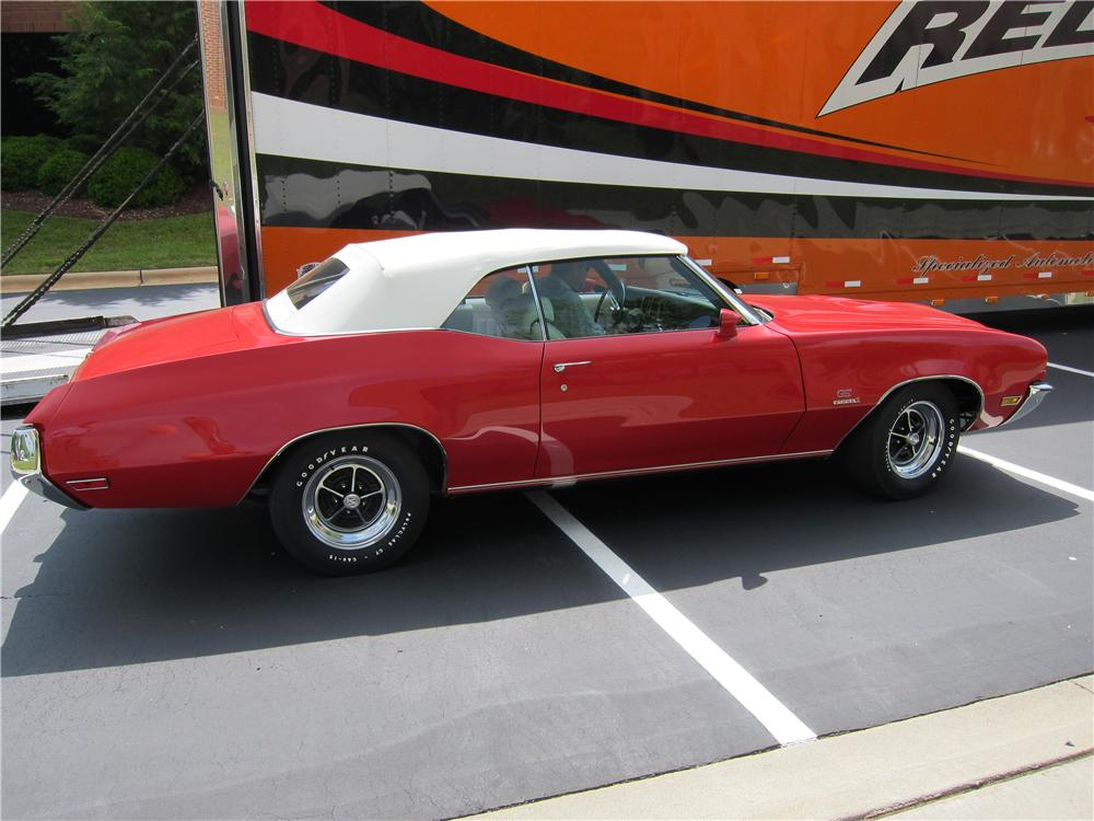 1972 BUICK GS STAGE 1 CONVERTIBLE - Side Profile - 160987