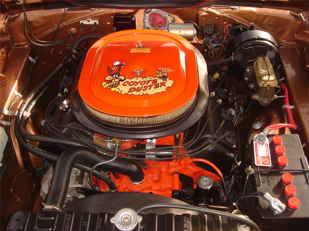 1970 PLYMOUTH HEMI ROAD RUNNER 2 DOOR COUPE - Engine - 160994