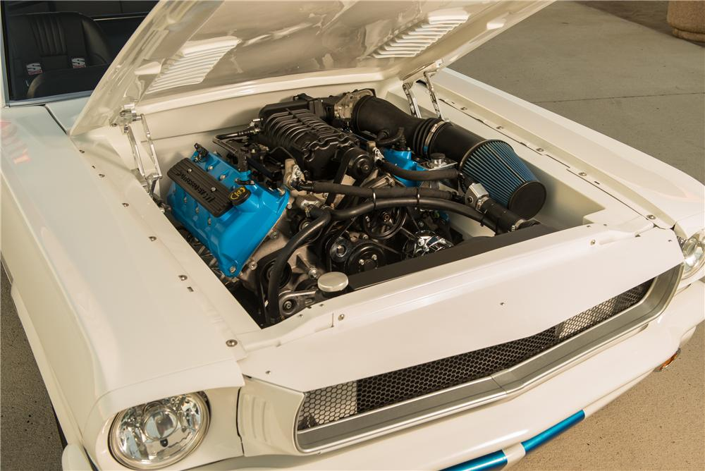 1965 FORD MUSTANG CUSTOM FASTBACK - Engine - 161025