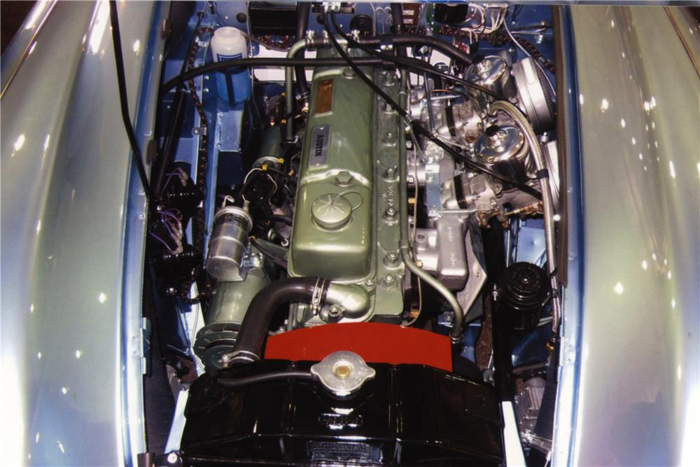 1967 AUSTIN-HEALEY 3000 MARK III BJ8 CONVERTIBLE - Engine - 161026