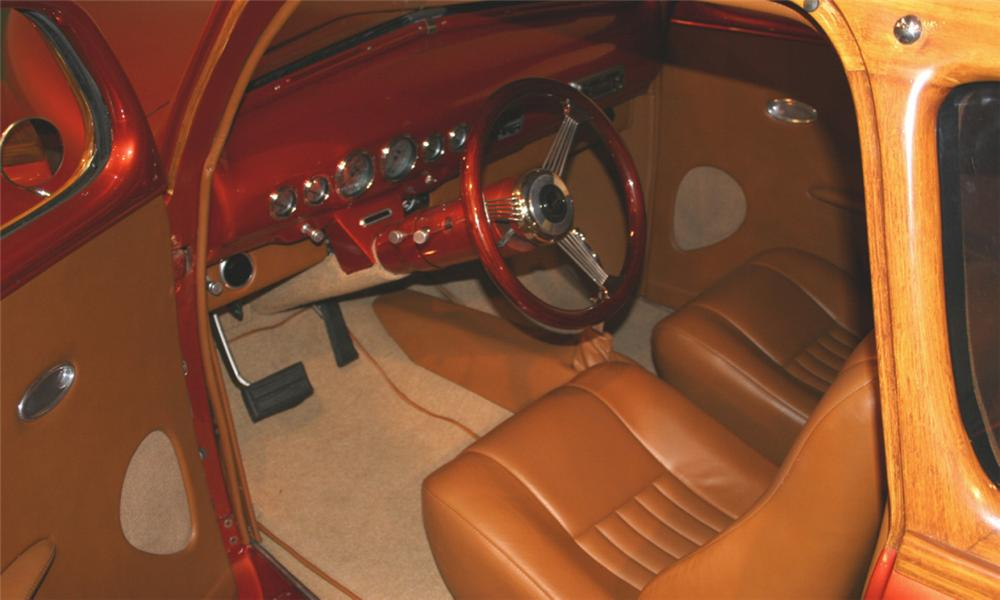 1948 FORD CUSTOM WOODY WAGON - Interior - 16104