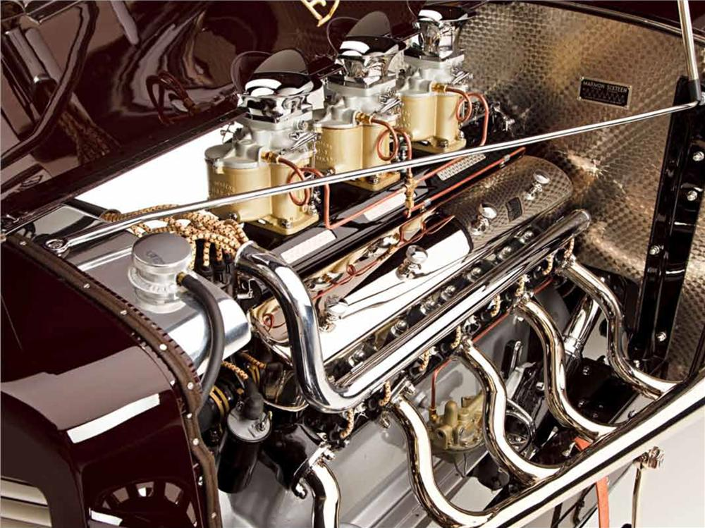 1931 MARMON HOT ROD ROADSTER - Engine - 161041