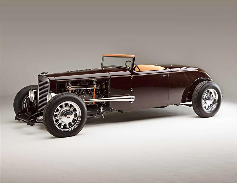 1931 MARMON HOT ROD ROADSTER - Front 3/4 - 161041