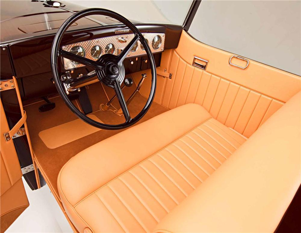 1931 MARMON HOT ROD ROADSTER - Interior - 161041