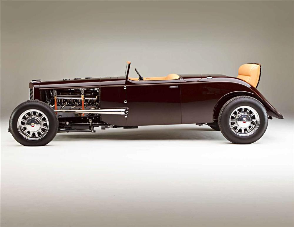 1931 MARMON HOT ROD ROADSTER - Side Profile - 161041