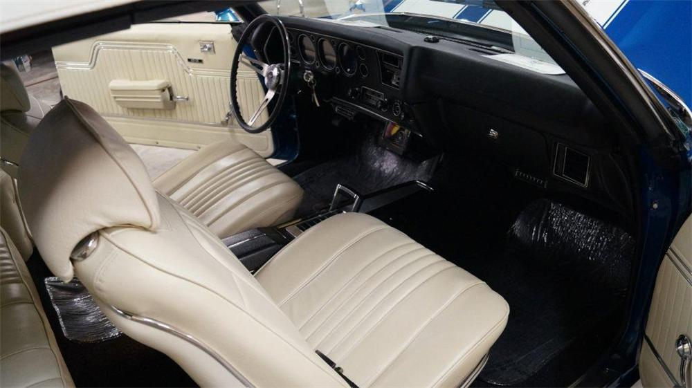 1971 CHEVROLET CHEVELLE CUSTOM CONVERTIBLE - Interior - 161047
