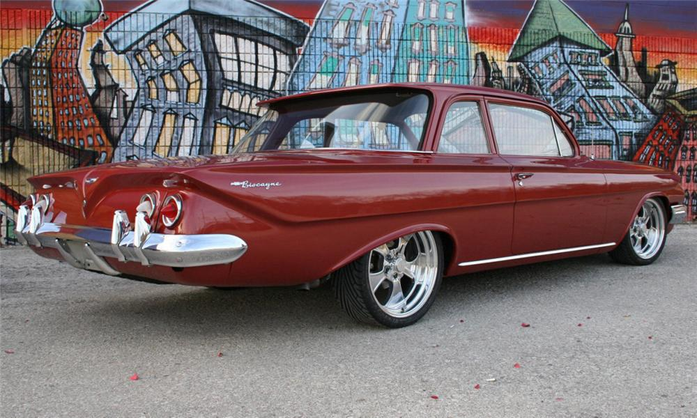 1961 CHEVROLET BISCAYNE CUSTOM 2 DOOR HARDTOP - 16106
