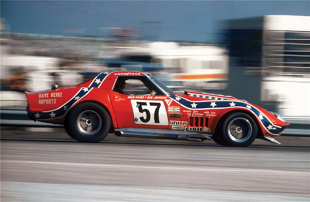 1969 Chevrolet Corvette 57 Rebel Convertible Race Car