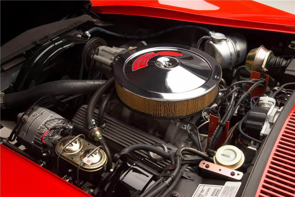 1970 CHEVROLET CORVETTE ZR1 2 DOOR COUPE - Engine - 161062