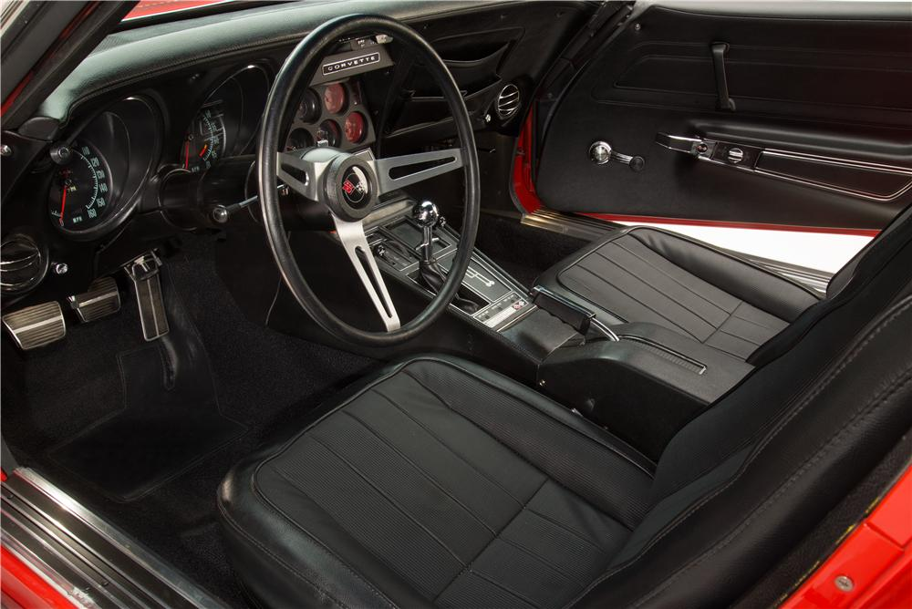 1970 CHEVROLET CORVETTE ZR1 2 DOOR COUPE - Interior - 161062