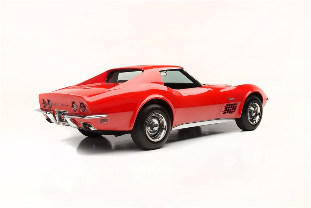 1970 CHEVROLET CORVETTE ZR1 2 DOOR COUPE - Rear 3/4 - 161062