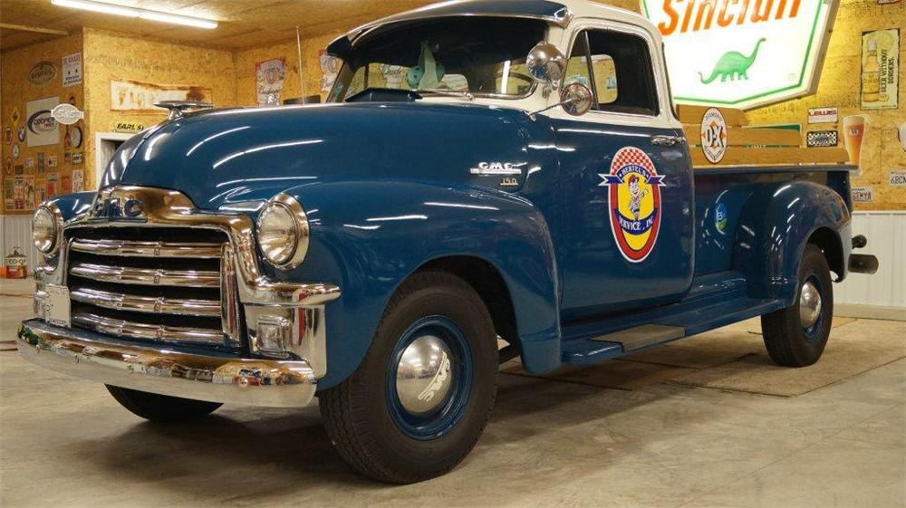 1954 GMC 150 PICKUP - Side Profile - 161066