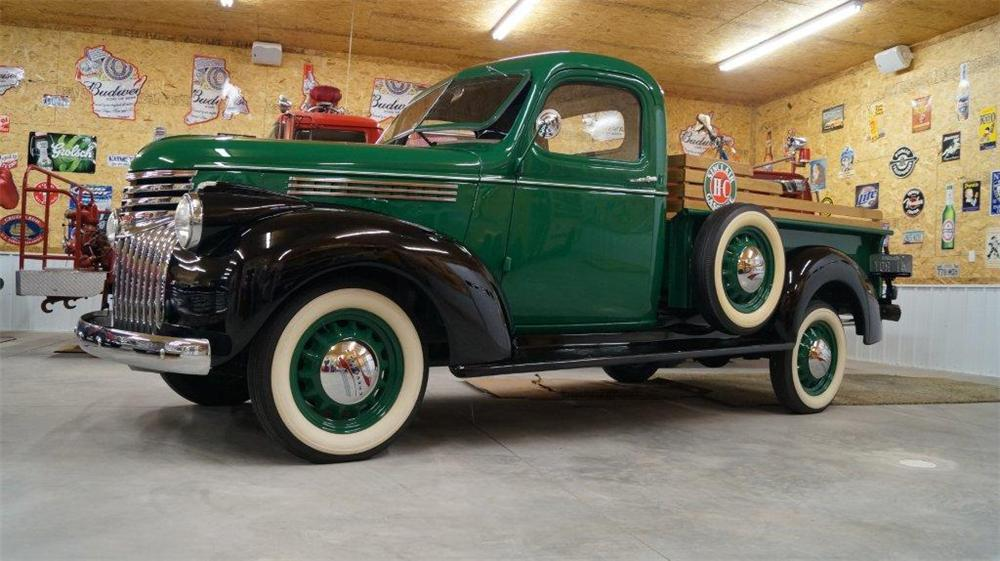 1941 CHEVROLET  PICKUP - Front 3/4 - 161067