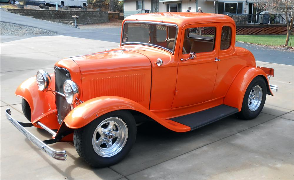 1932 ford 5 window custom 2 door coupe 161072