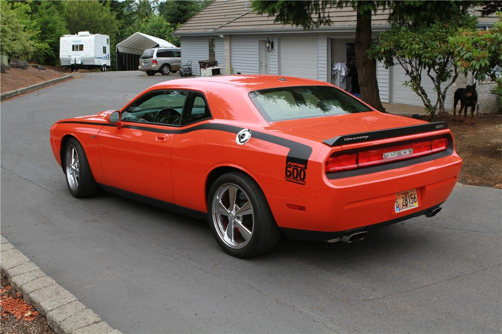 Rear Web on 2008 Dodge Challenger