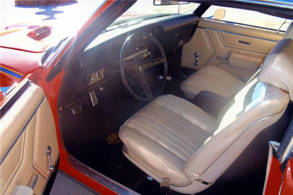 1969 PONTIAC GTO JUDGE 2 DOOR HARDTOP - Interior - 161101