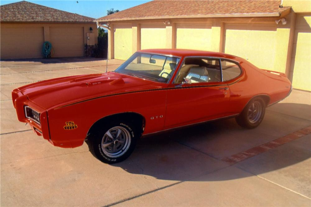 1969 PONTIAC GTO JUDGE 2 DOOR HARDTOP - Side Profile - 161101