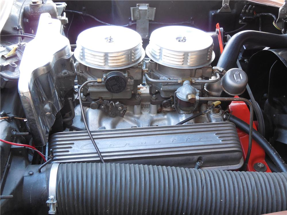 1957 CHEVROLET CORVETTE CONVERTIBLE - Engine - 161108