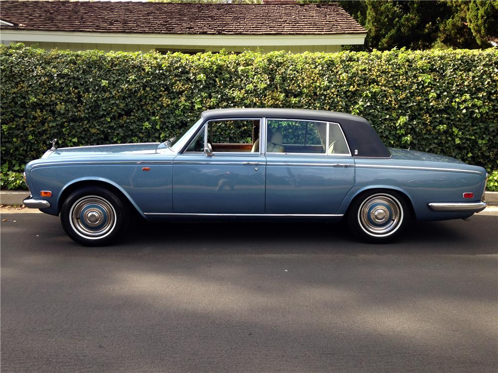 1973 ROLLS-ROYCE SILVER SHADOW LWB - Side Profile - 161109