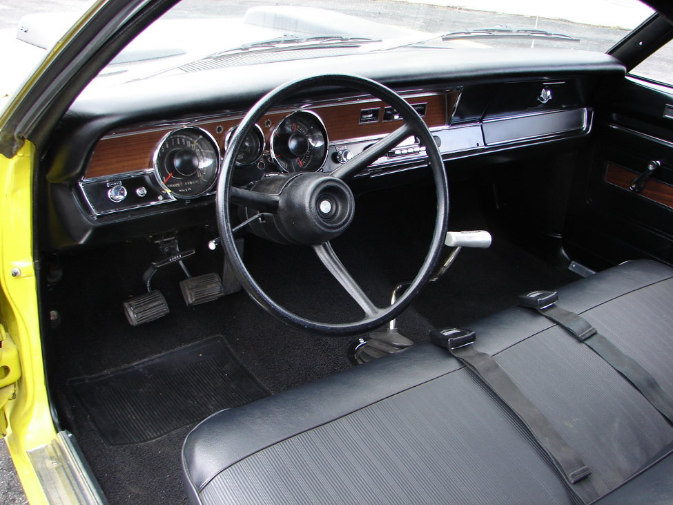 1971 DODGE DEMON 340 GSS 2 DOOR COUPE - Interior - 161114