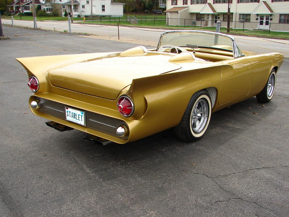 1957 FORD THUNDERBIRD CUSTOM ROADSTER - Rear 3/4 - 161115