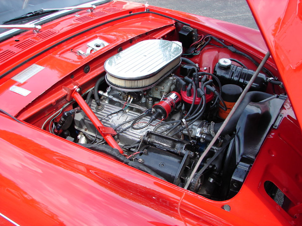 1966 SUNBEAM TIGER CONVERTIBLE - Engine - 161117