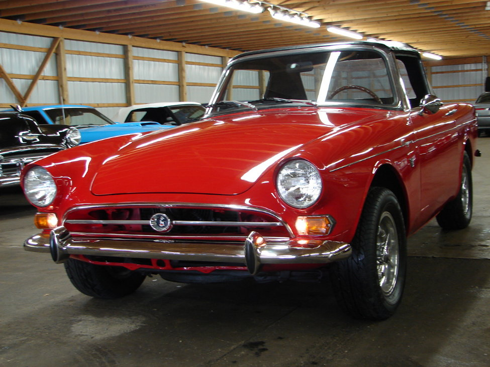 1966 SUNBEAM TIGER CONVERTIBLE - Front 3/4 - 161117