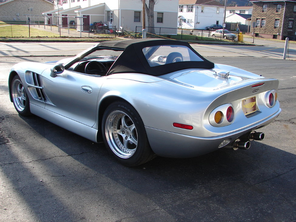 1999 SHELBY SERIES 1 CONVERTIBLE - Rear 3/4 - 161119