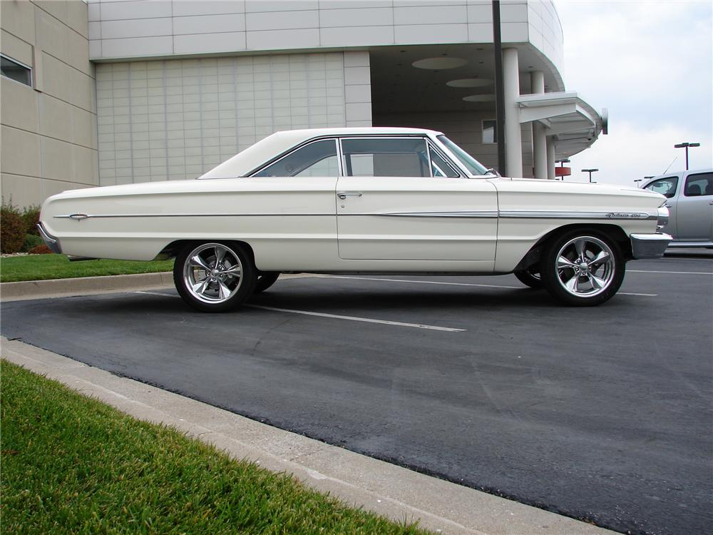 1964 FORD GALAXIE 500 XL CUSTOM 2 DOOR COUPE - Side Profile - 161123