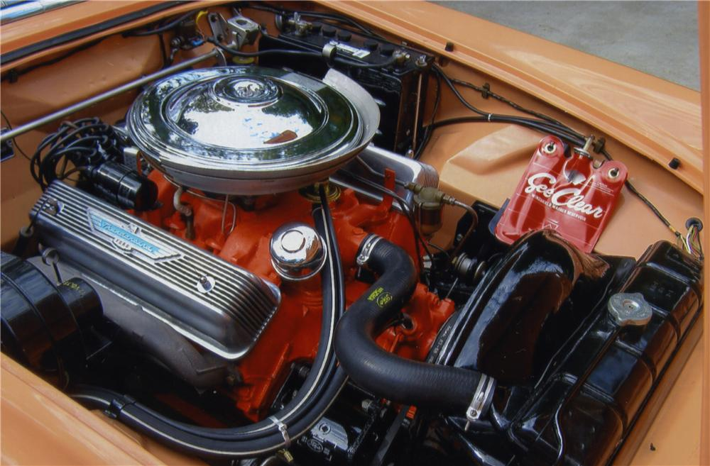 1957 FORD THUNDERBIRD CONVERTIBLE - Engine - 161127