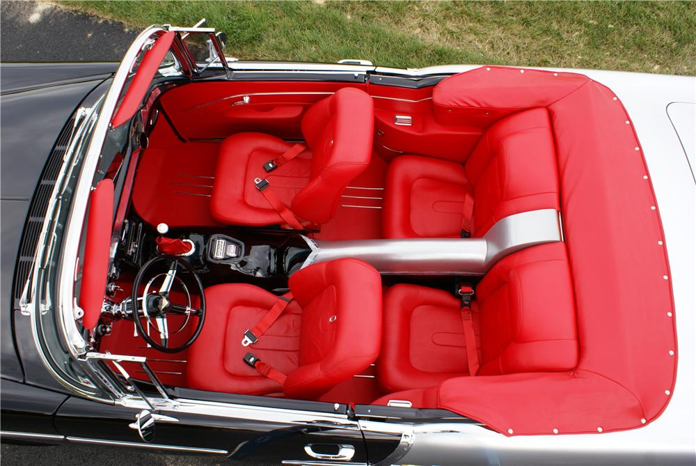 1955 CHEVROLET BEL AIR CUSTOM CONVERTIBLE - Interior - 161130