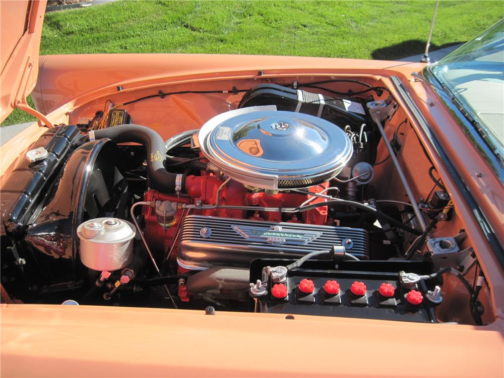 1957 FORD THUNDERBIRD CONVERTIBLE - Engine - 161139