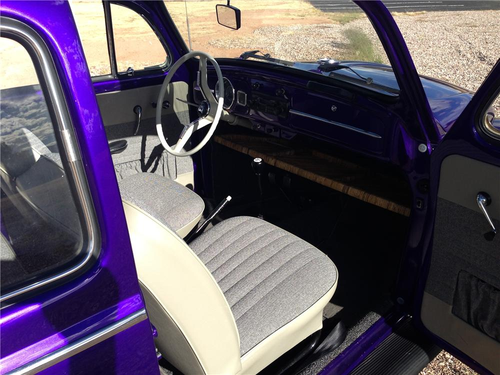 1964 VOLKSWAGEN BEETLE 2 DOOR COUPE - Interior - 161142