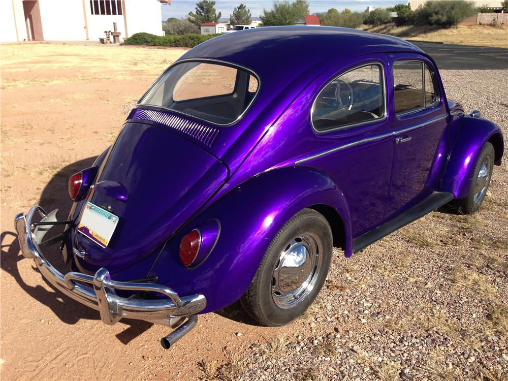 1964 VOLKSWAGEN BEETLE 2 DOOR COUPE - Rear 3/4 - 161142