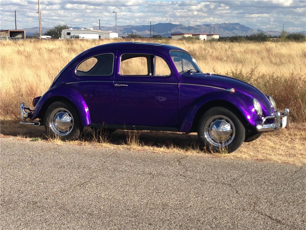 1964 VOLKSWAGEN BEETLE 2 DOOR COUPE - Side Profile - 161142