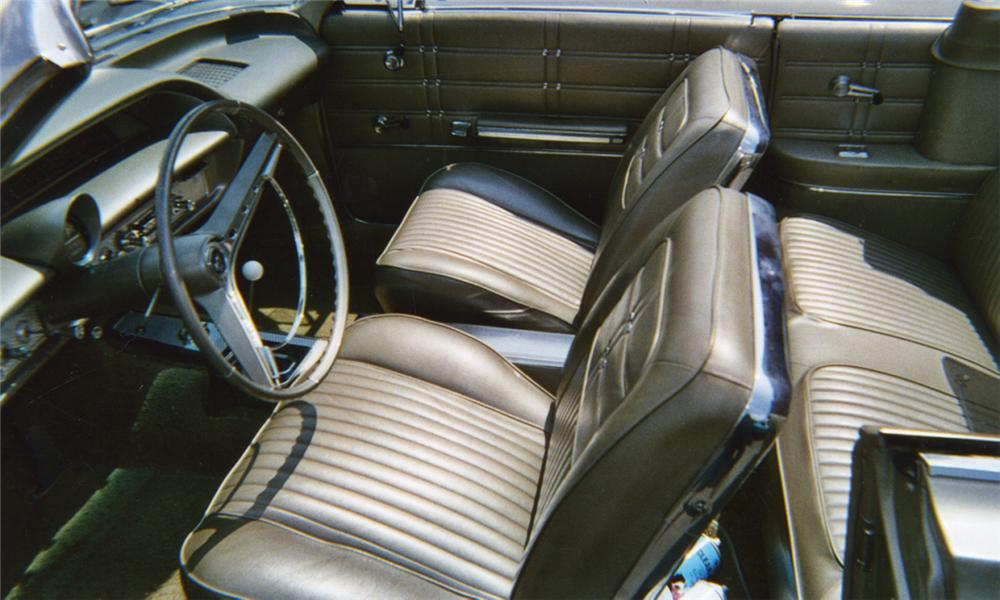 1963 CHEVROLET IMPALA SS CONVERTIBLE - Interior - 16115