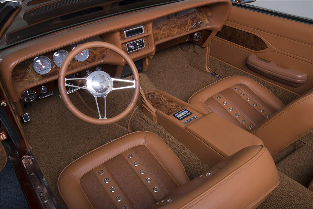 1969 MERCURY COUGAR CUSTOM CONVERTIBLE - Interior - 161166